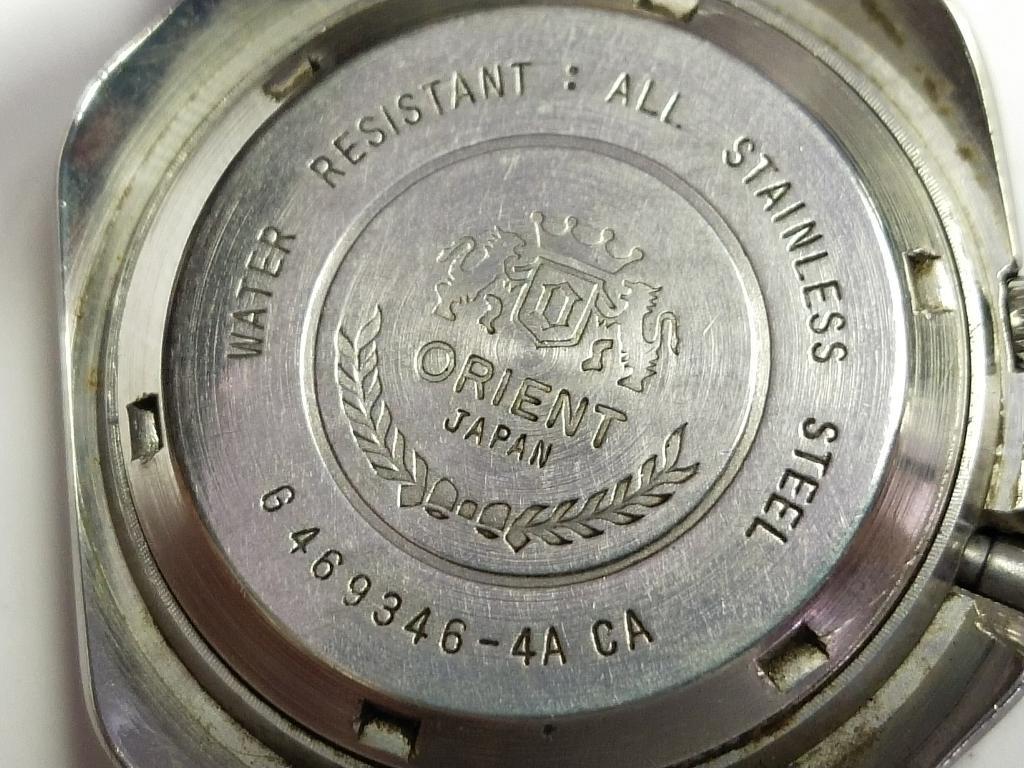 """Часы наручные """" ORIENT """". Автоподзавод . Япония. 5."""