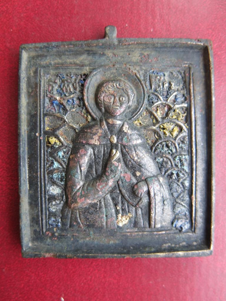 икона Святой мученик Уар 18 - 19 век