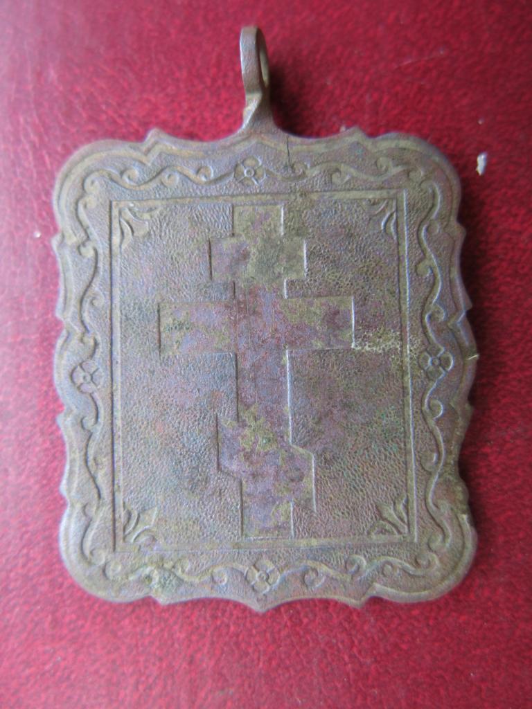 икона Преподобный Трифон Печенгский просветитель Лопарей 19 век