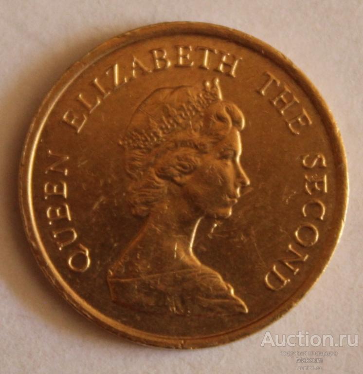 Гонконг 10 центов .1983 г .