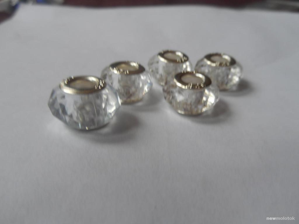 Кристальные шармы для браслетов
