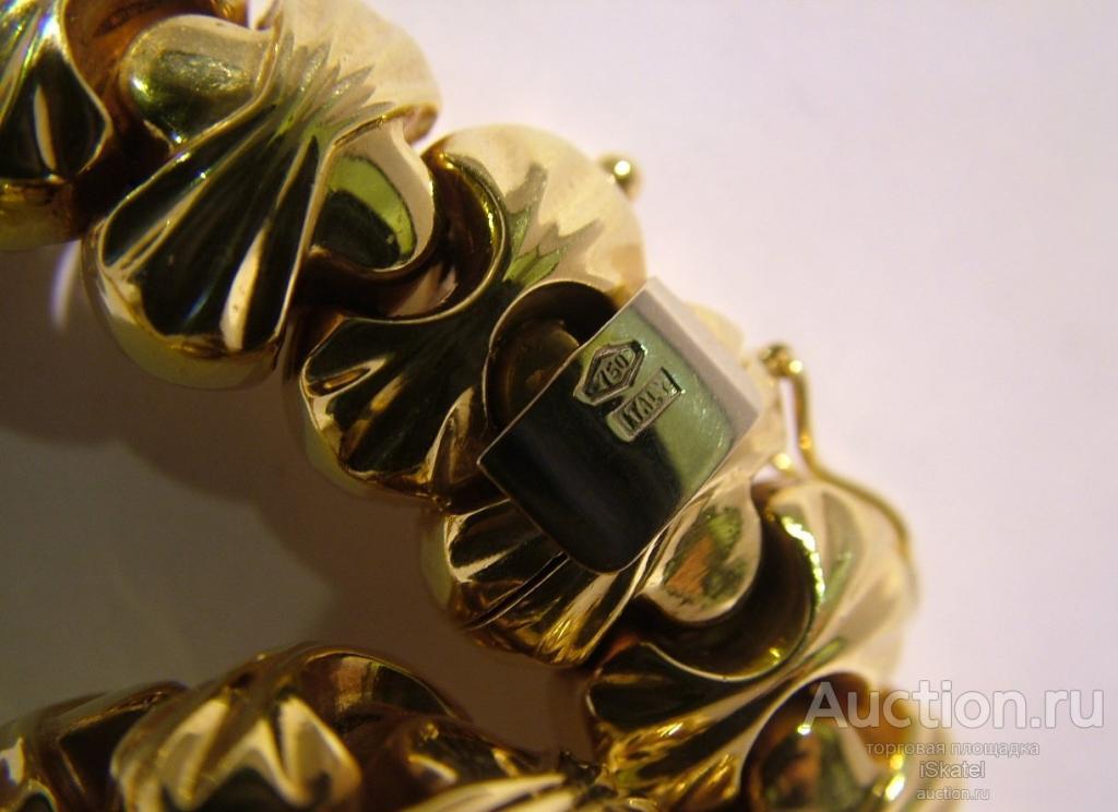 Колье. Золото 750 проба. 97.78г