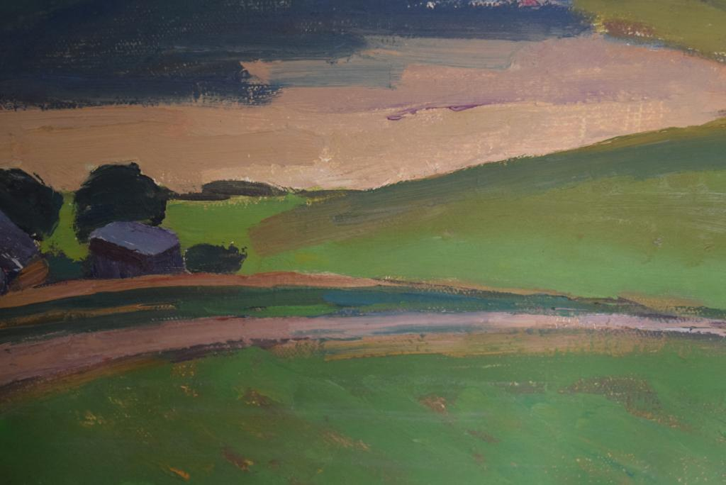 Сергей Иванович Осипов 1915-1985 картина маслом на холсте 1968 г.