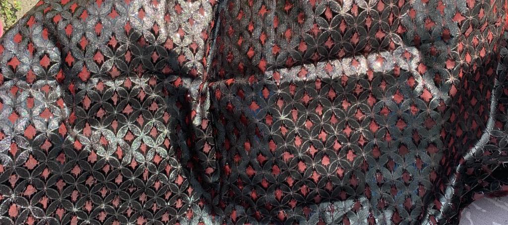 Ткань из Афганистана! Редкость! Красивейшая. Куплена в 88 году