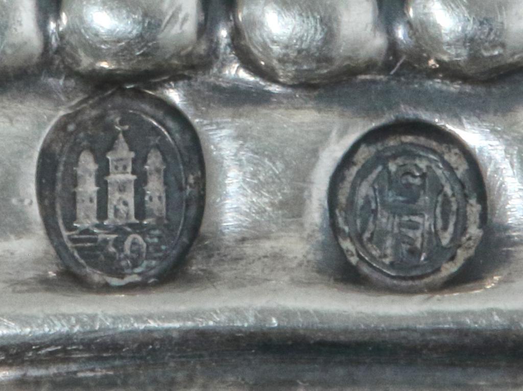 Сервировочная лопатка с серебряной ручкой. Дания, Georg Jensen