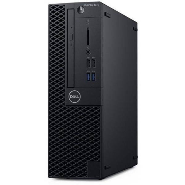 ПК Dell Optiplex 3070 SFF i3 9100 (3.6)/8Gb/SSD256Gb/UHDG 630/DVDRW/Windows 10 Professional/GbitEth