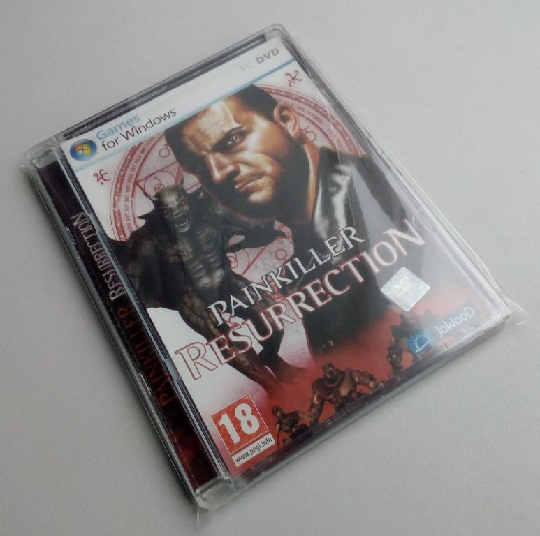 Painkiller: Resurrection/Unofficial/DVD-ROM/PC/ПК/Super Jewel Box/стекло/распечатан