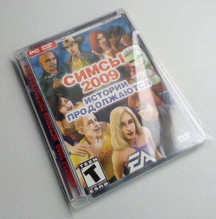 The Sims 2/антология/сборник игр/Unofficial/DVD-ROM/PC/ПК/Super Jewel Box/стекло/распечатан