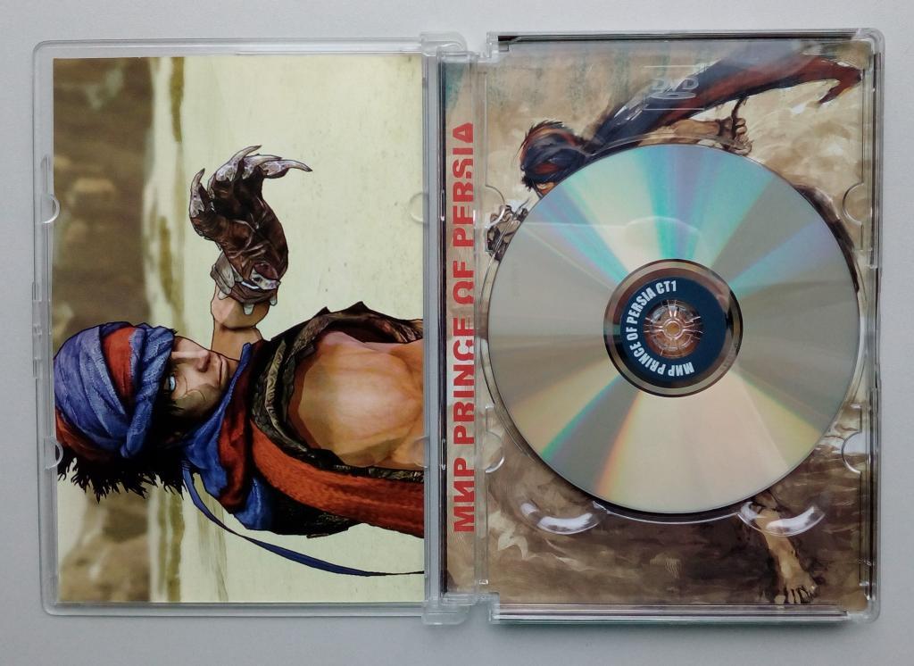 Prince Of Persia/антология/сборник игр/Unofficial/DVD-ROM/PC/ПК/Super Jewel Box/стекло/распечатан