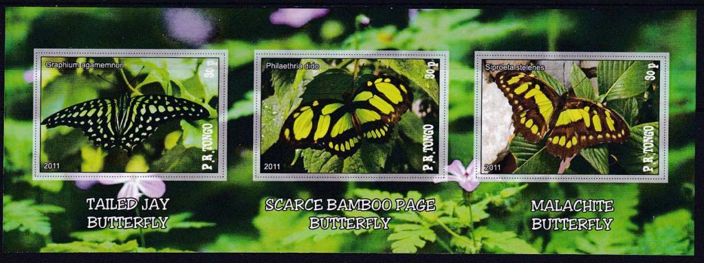 Tongo, Тонго - 2011 - Бабочки - 06