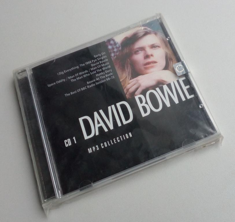 David Bowie CD1 (1964-1972)/RMG Records/лицензия/MP3/CD-ROM/Jewel Box/запечатан
