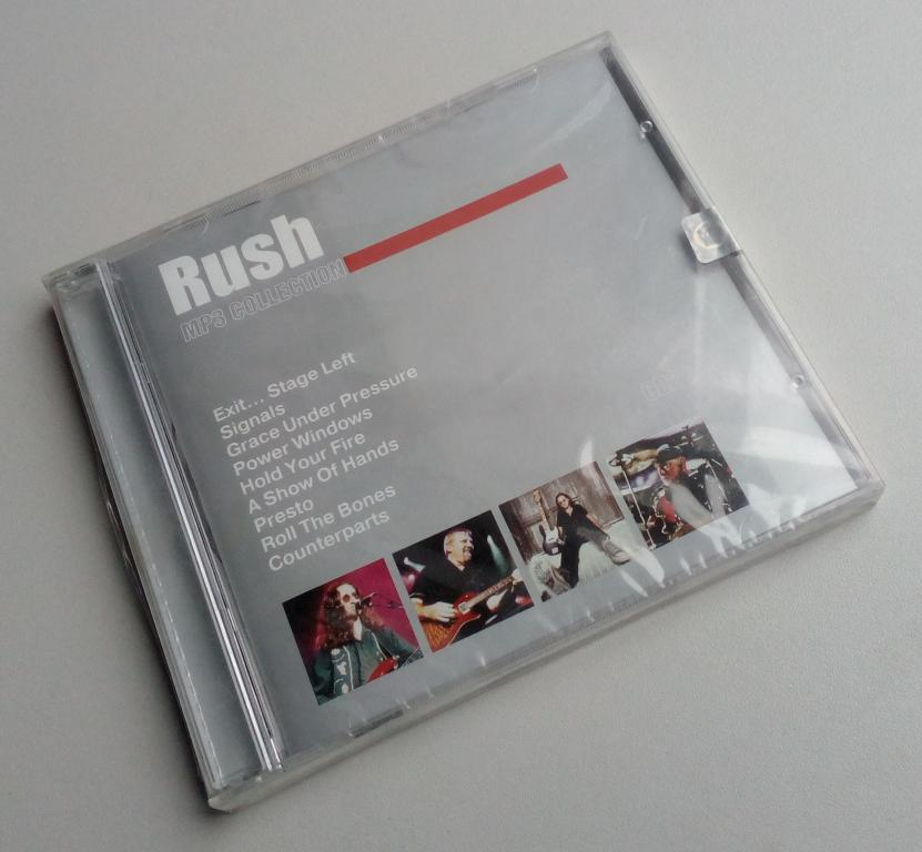 Rush CD2 (1981-1993)/Moroz Records/RMG Records/лицензия/MP3/CD-ROM/Jewel Box/запечатан