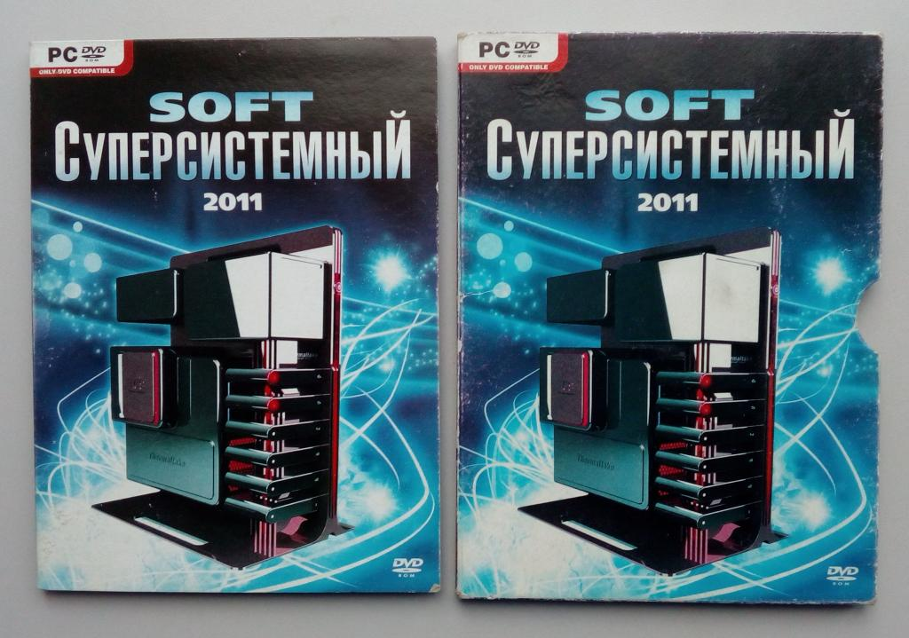 SOFT Суперсистемный 2011/Unofficial/DVD-ROM/PC/ПК/Софт/Digipak/Digipack/диджипак/распечатан