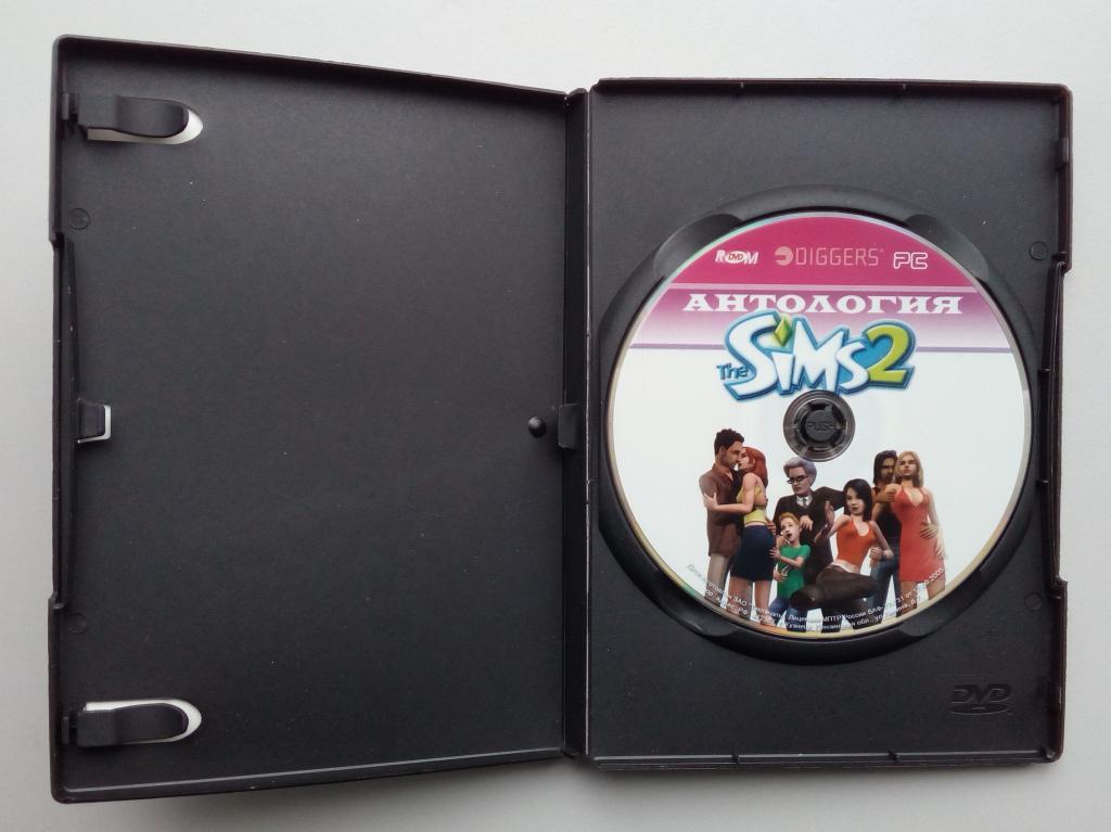 The Sims 2/антология/сборник игр/Unofficial/DVD-ROM/PC/ПК/распечатан