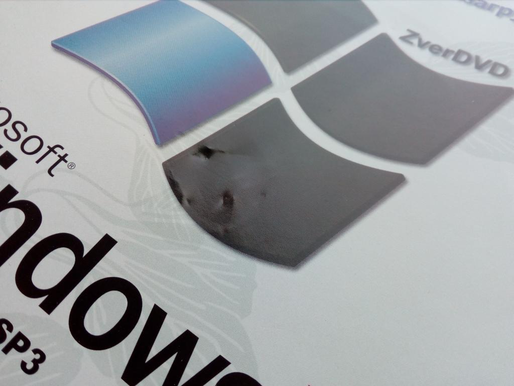Windows XP SP3 ZverDVD/Unofficial/DVD-ROM/PC/ПК/Soft/Софт/распечатан