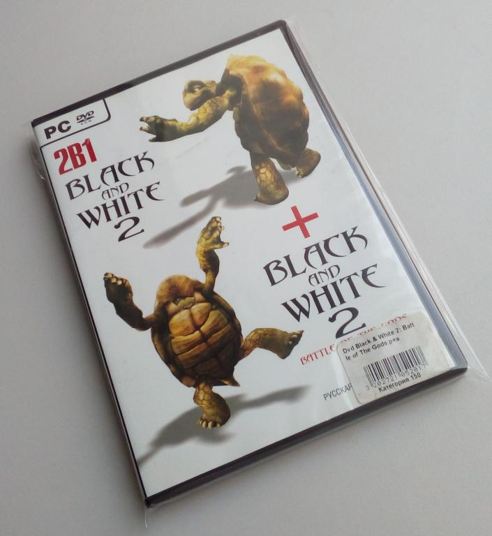 Black and White 2 + Black and White 2: Battle Of The Gods/Unofficial/DVD-ROM/PC/ПК/распечатан
