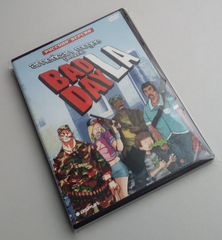 Bad Day L.A./Unofficial/DVD-ROM/PC/ПК/распечатан