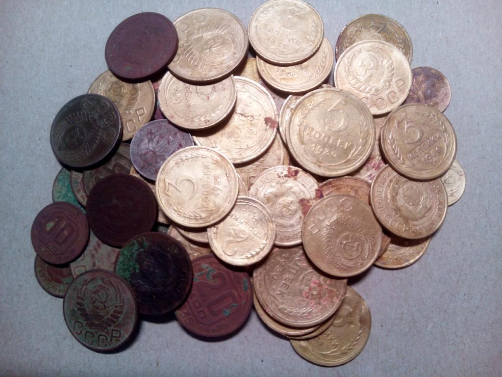 60 монет Ранних Советов до 1957 года одним лотом