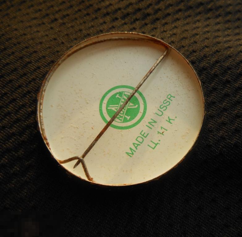 М ЗНАЧОК СССР ФУТБОЛ СПОРТЛОТО СПОРТ ЛОТО МАТЧ ФРГ ГЕРМАНИЯ МОСКВА 5.9. 73 1973 КЛЕЙМО NORMA D=42mm