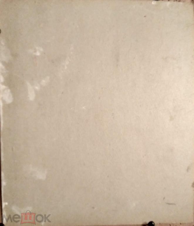 Кареев Г.С. Мужчина (масло картон) 25на29см (115к)