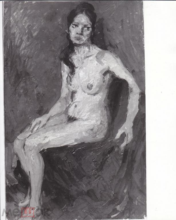 Кареев Г.С. Женщина (пастель картон) 50на69см (11к)