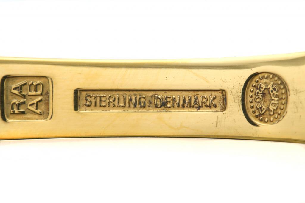 Серебряная годовая ложка Georg Jensen, 1981 год.