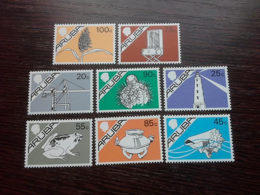 Нидерланды и колонии, остров Аруба, 1987 г., Жизнь на Арубе (полная серия)