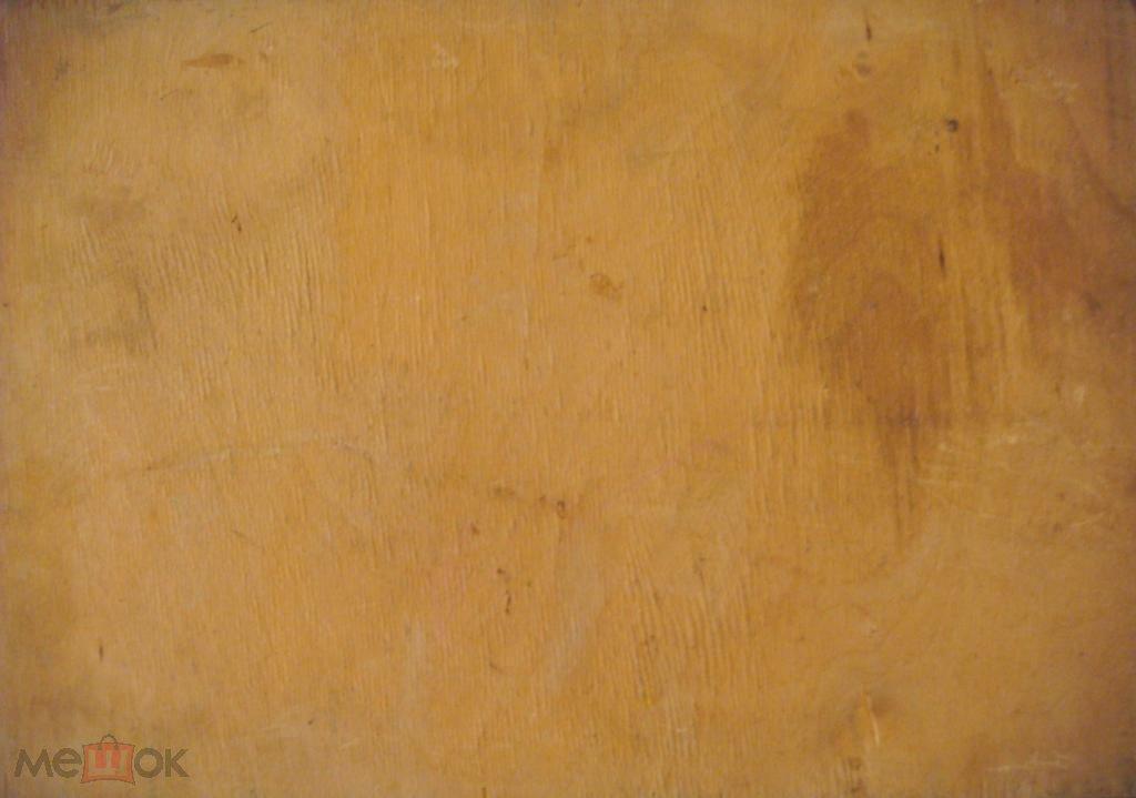 Пейзаж (Масло холст фанера)42на30см. (к436)