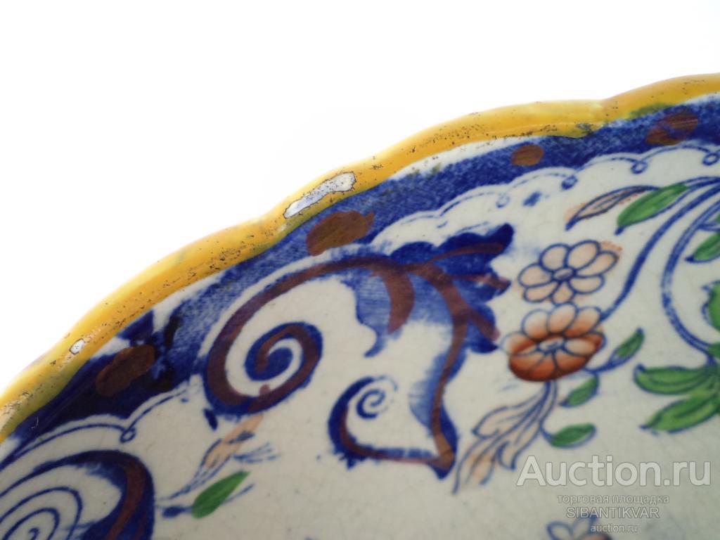 82 ак СТАРИННАЯ ВИКТОРИАНСКАЯ ВАЗА ФАРФОР АНГЛИЯ 1890 годы дом стол сервировка декор интерьер