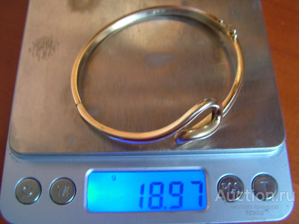 браслет ЗОЛОТО 585 проба 18.97 г