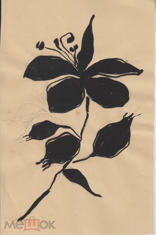 Федосеева Ю. Цветы (3 аквар бум) 21на27см (а44)