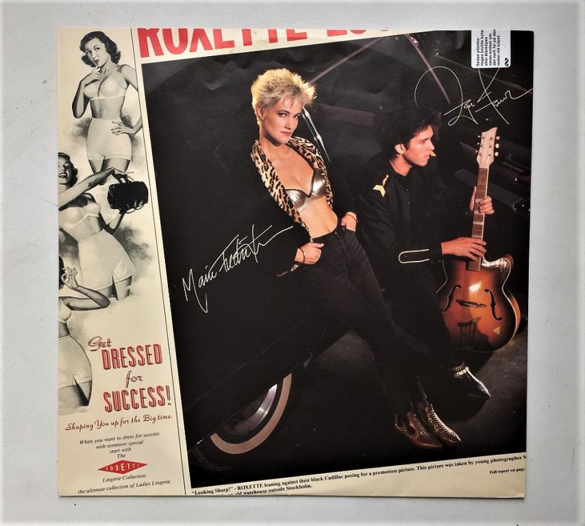 "LP. Roxette ""Look Sharp'' 1988"