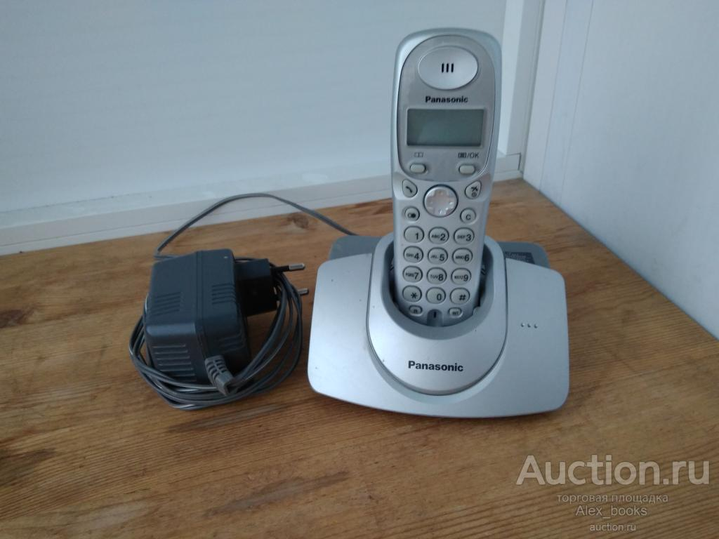 Радиотелефон Panasonic KX-TG1105RU б/у, рабочий.
