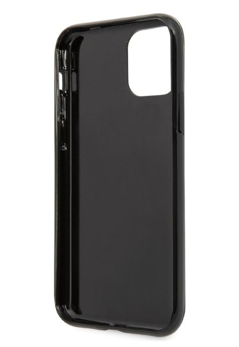 Чехол-накладка для iPhone 11 Pro Guess Marble Design Hard PC/TPU, Black (GUHCN58PCUMABK)
