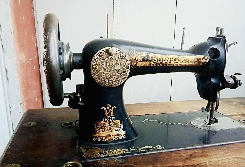 Швейная машинка Зингер (Шотландия) 1900 год