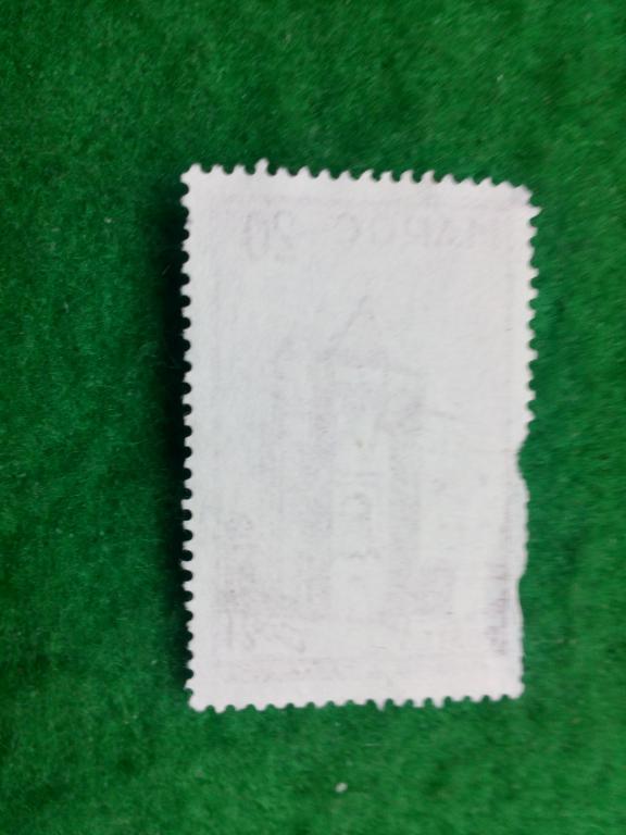 марки * 1955 Марокко № 405 архитектура здания  ремесло почта редко старина распродажа архив ретро ск