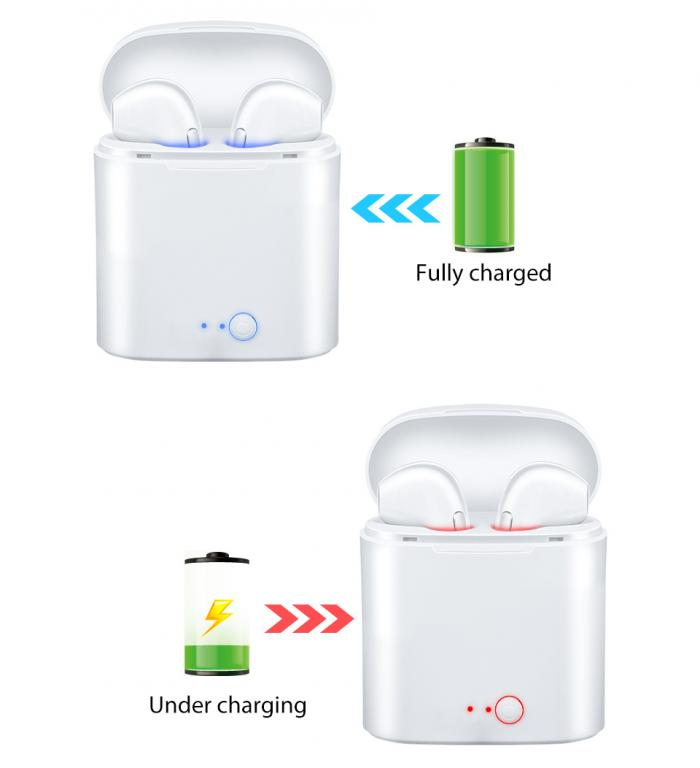 Bluetooth Наушники I7S TWS (Аналог Apple AirPods).