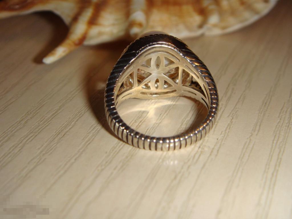 ATR кольцо жемчуг серебро золото оригинал. SALE!