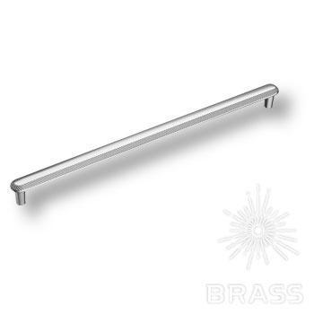 1102320MP02 Ручка скоба современная классика, глянцевый хром 320 мм