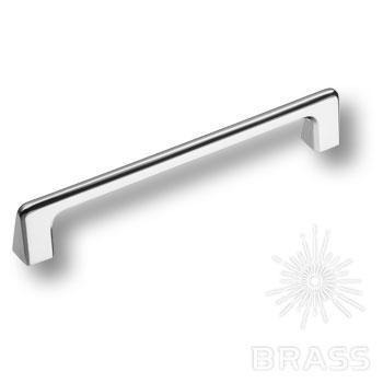 1107160MP02 Ручка скоба современная классика, глянцевый хром 160 мм