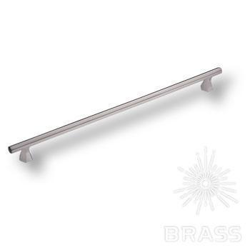1108320MP08 Ручка скоба современная классика, сатин-никель 320 мм