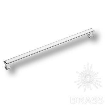 1104320MP02 Ручка скоба современная классика, глянцевый хром 320 мм