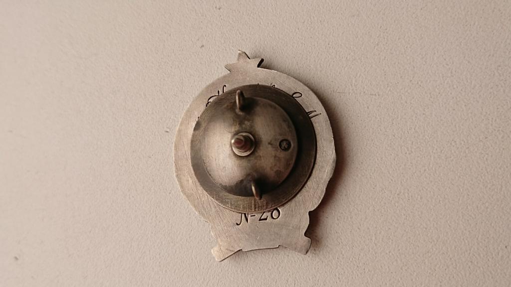 Знак -Открывателю Воздушного Пути Якутии-№24-Именной-1927г.