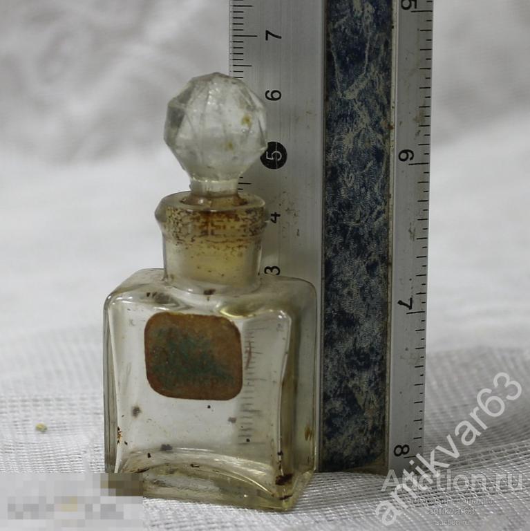 Пузырек Аптечный с притирочной крышкой, также использовался для духов. До 1917 года.