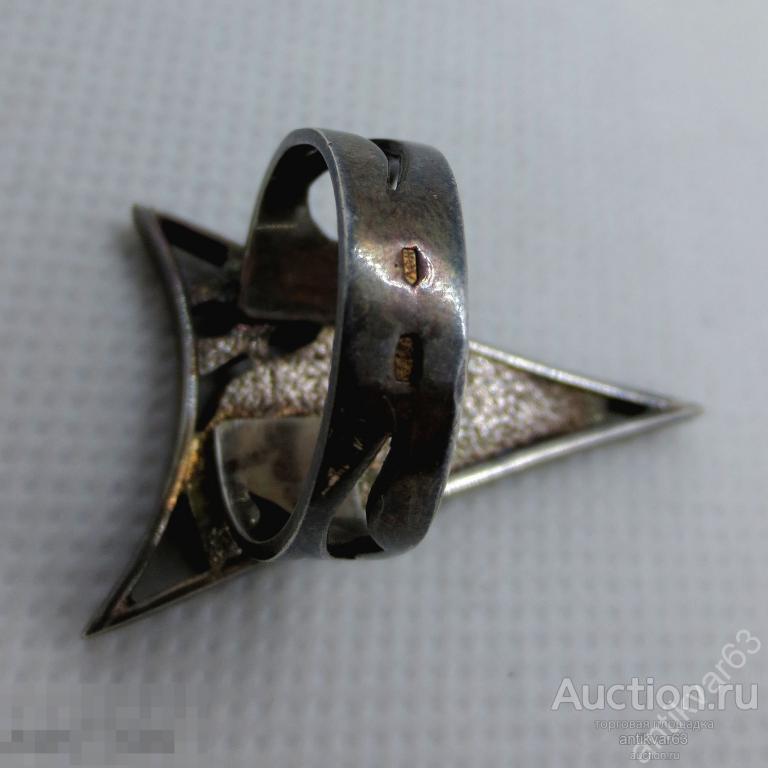 Кольцо «Стрела». Натуральный янтарь, черненое серебро 925 пр, вес 6,58 гр, размер 18.