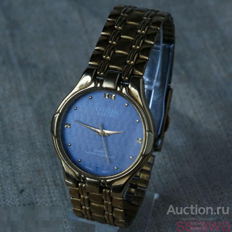 часы Ситизен 1980х Япония кварц vintage Japan quartz watch Citizen 1032-S92341 СЦ347.47