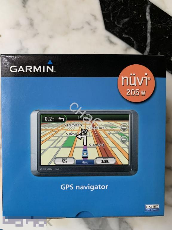 Навигатор Garmin Nuvi 205W Новый в коробке. 3500 руб   Полный комплект документов и коробка, креплен