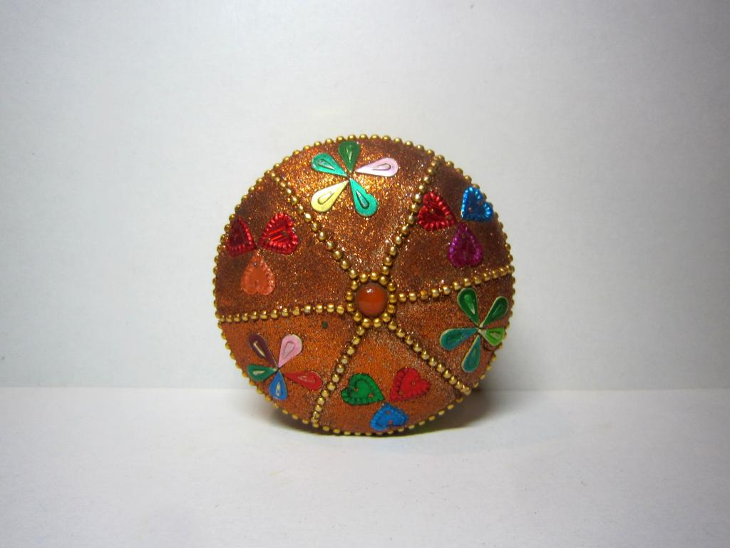 восточная татары Красивая шкатулка игольница ювелирная ларец бархат металл камни стразы ручная работ