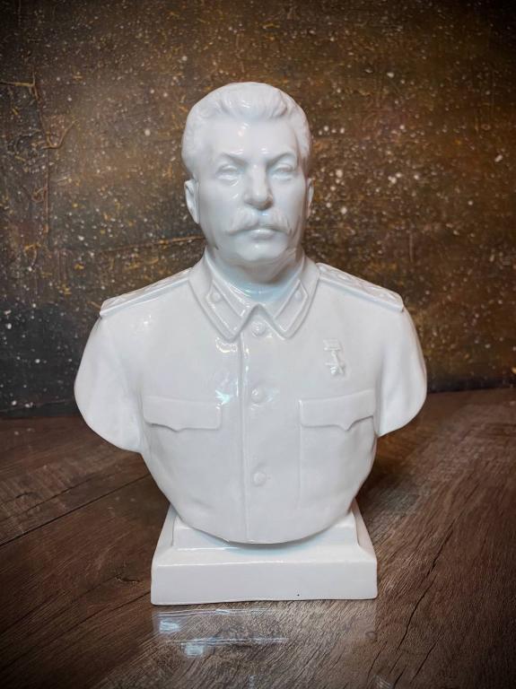 Бюст И. В. Сталин. ЛФЗ. 40ые