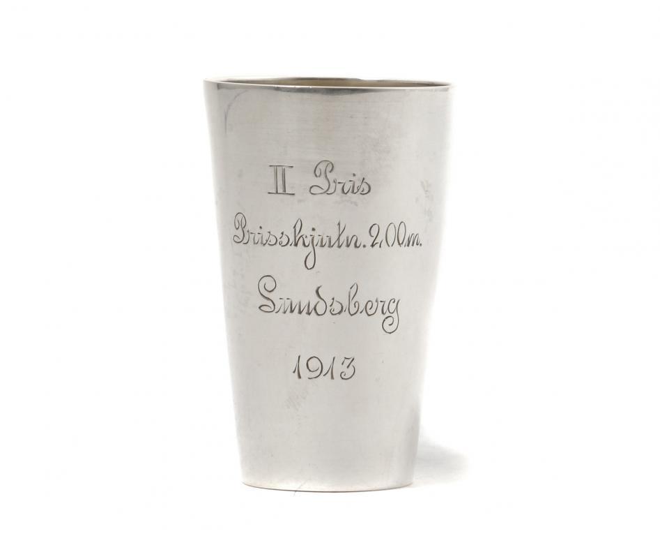 Серебряная стопка. Швеция, 1913 год